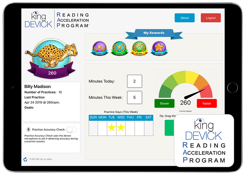 K-D RAP - Reading Acceleration Program
