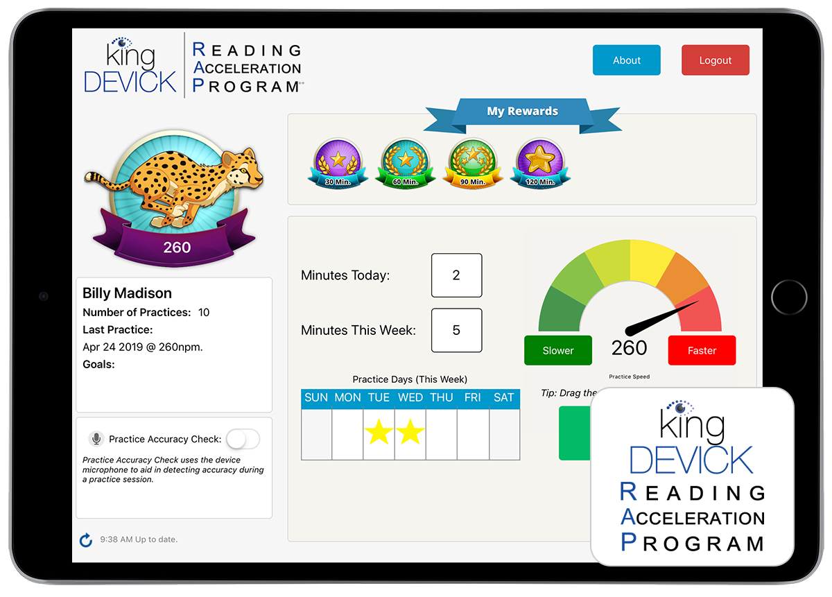 K-D Reading Acceleration Program (RAP)