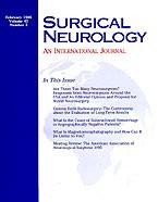 Surgical Neurology International 2014 Jun 11