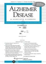 Alzheimer Dis Assoc Disord. 2017 Apr-Jun; 31(2):152-158.