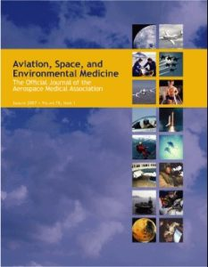 Aviat Space Environ Med. 2014; 85:700-7.
