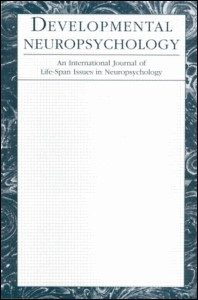 Developmental Neuropsychology. 2015, 40:1, 7-11