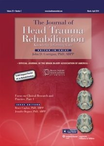 J Head Trauma Rehabil. 2016 Jul-Aug;31(4):252-61