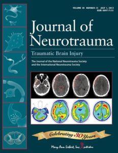J Neurotrauma. 2018 Feb 8