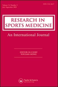 Research in Sports Medicine. 2018.