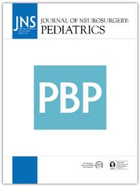 Journal of Neurosurgery Pediatrics. 2019