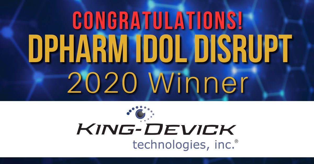 King-Devick Wins DPHARM Idol Disrupt 2020